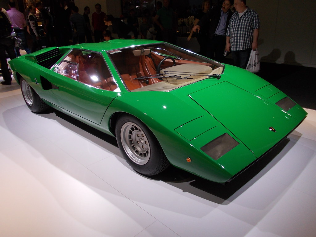 Lamborghini Countach LP400 Prototype #3 (Bertone, Gandini)… | Flickr