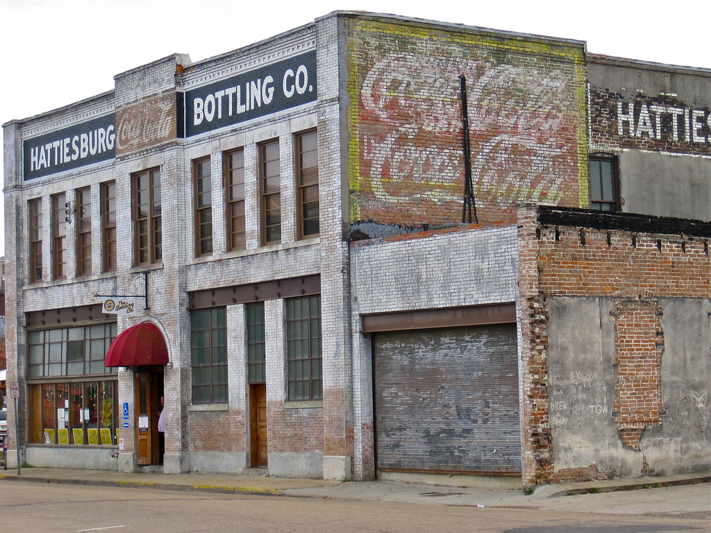 Hattiesburg Bottling Company, Hattiesburg, MS | The old ...