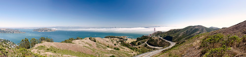 Fog over the bay - panorama | by morozgrafix
