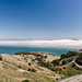 Fog over the bay - panorama
