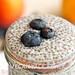 Blueberry Peach Chia Parfait