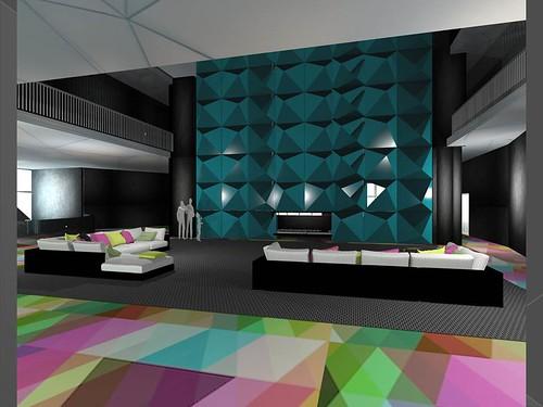 Monica kopacz trenary hotel and spa interior design bfa - Harrington institute of interior design ...