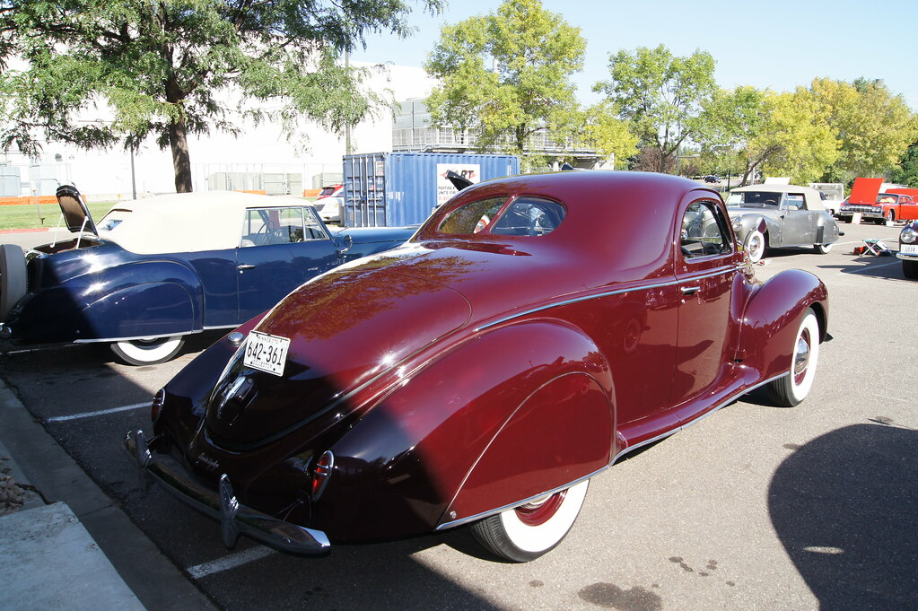 North Park Lincoln >> 39 Lincoln Zephyr 3 Window Coupe | Lincoln & Continental Own… | Flickr