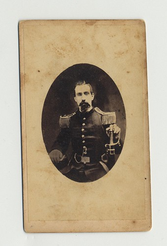 Capt. James Leonard, carte-de-visite by William H. Curry, Wilmington, Delaware, 1860-1862 | by national museum of american history