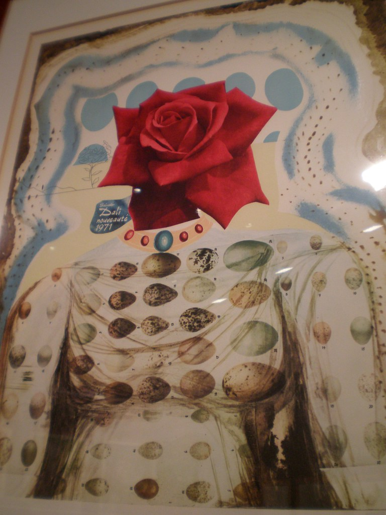 salvador dalí 'jeune fille-fleur surréaliste (surrealistic…   flickr