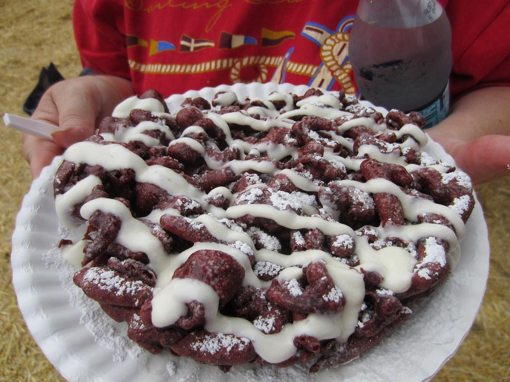 Red Velvet Funnel Cake Calories
