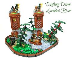 Drifting Down Lyrebird River by 'Sergeant Chipmunk'