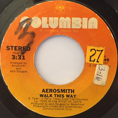 AEROSMITH:WALK THIS WAY(LABEL SIDE-A)