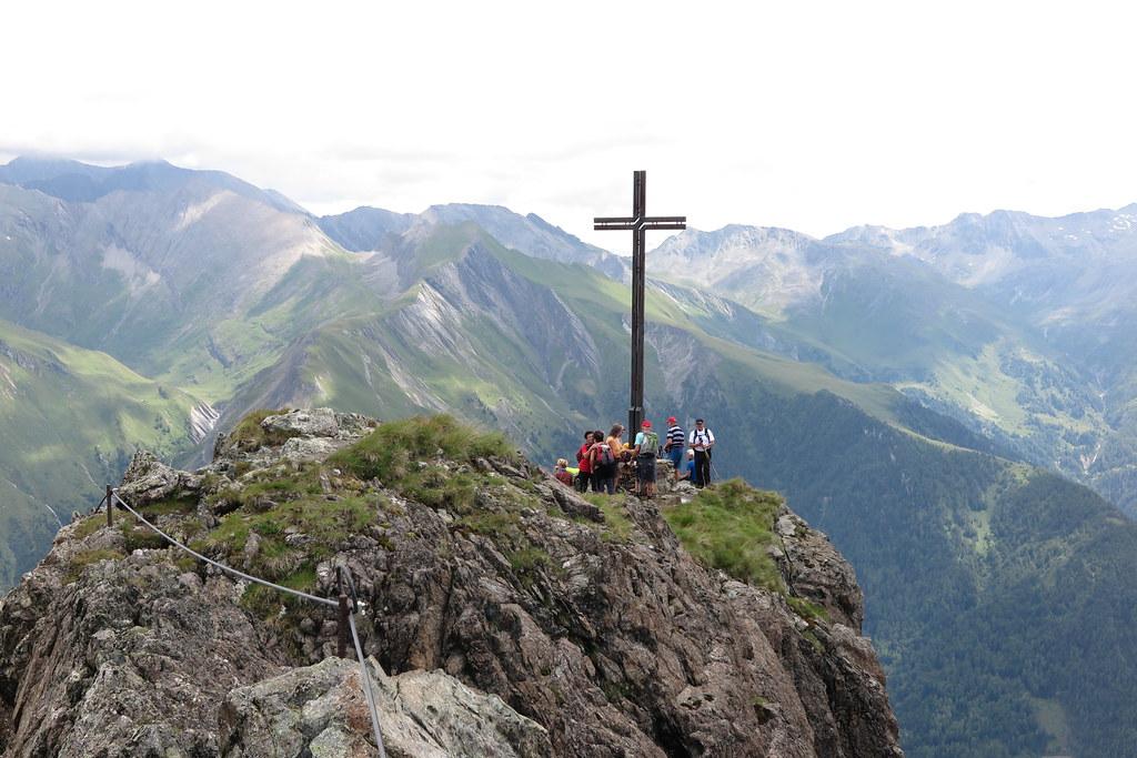 Klettersteig Austria : Klettersteig blauspitz am der gipfel des blauspu flickr