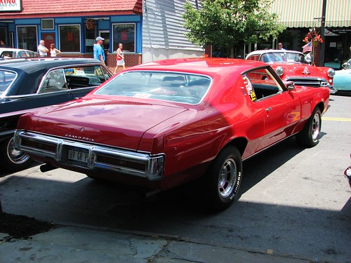 A 1969 Pontiac Grand Prix In July 2012 Seen At The 2012