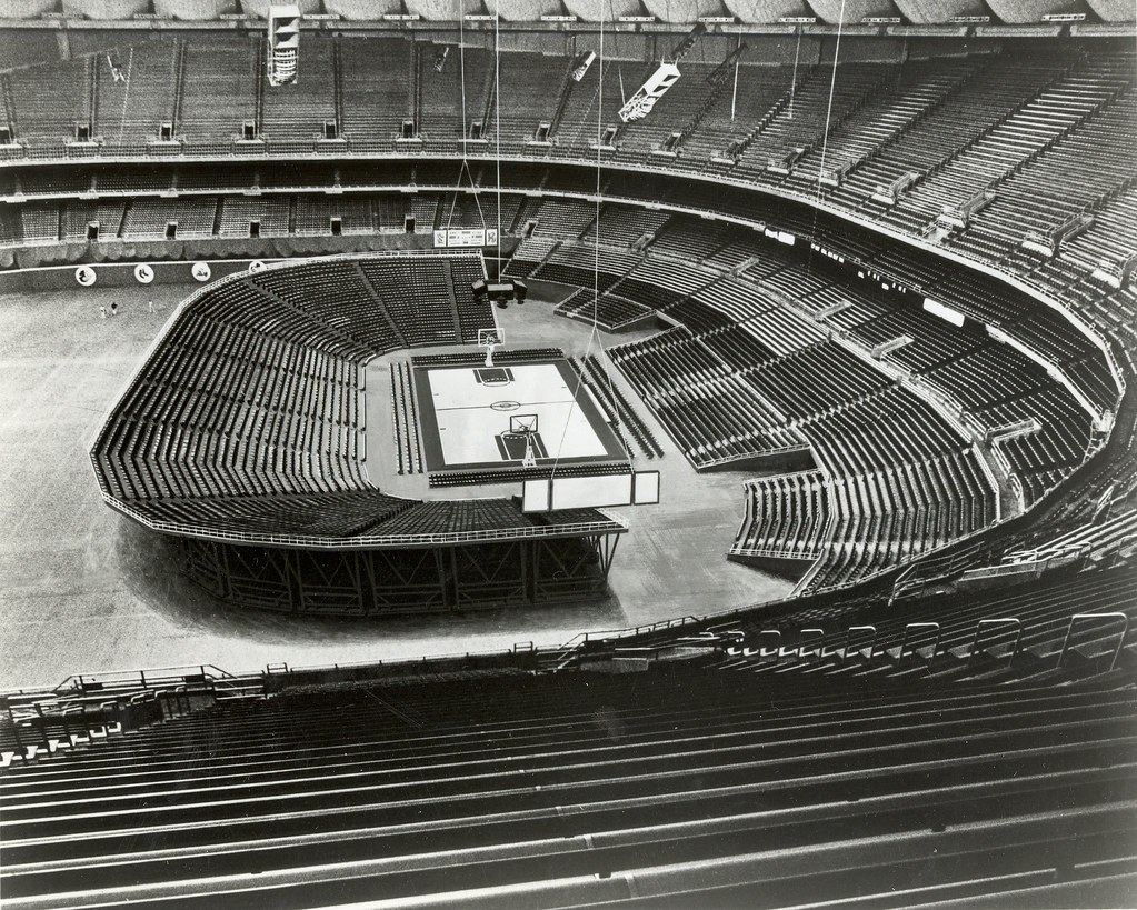 Basketball Seating Kingdome Circa 1980 Series 1608