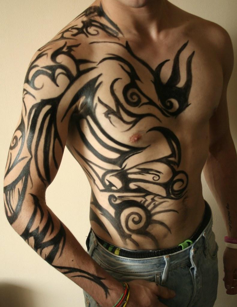 Body Tribal Paint