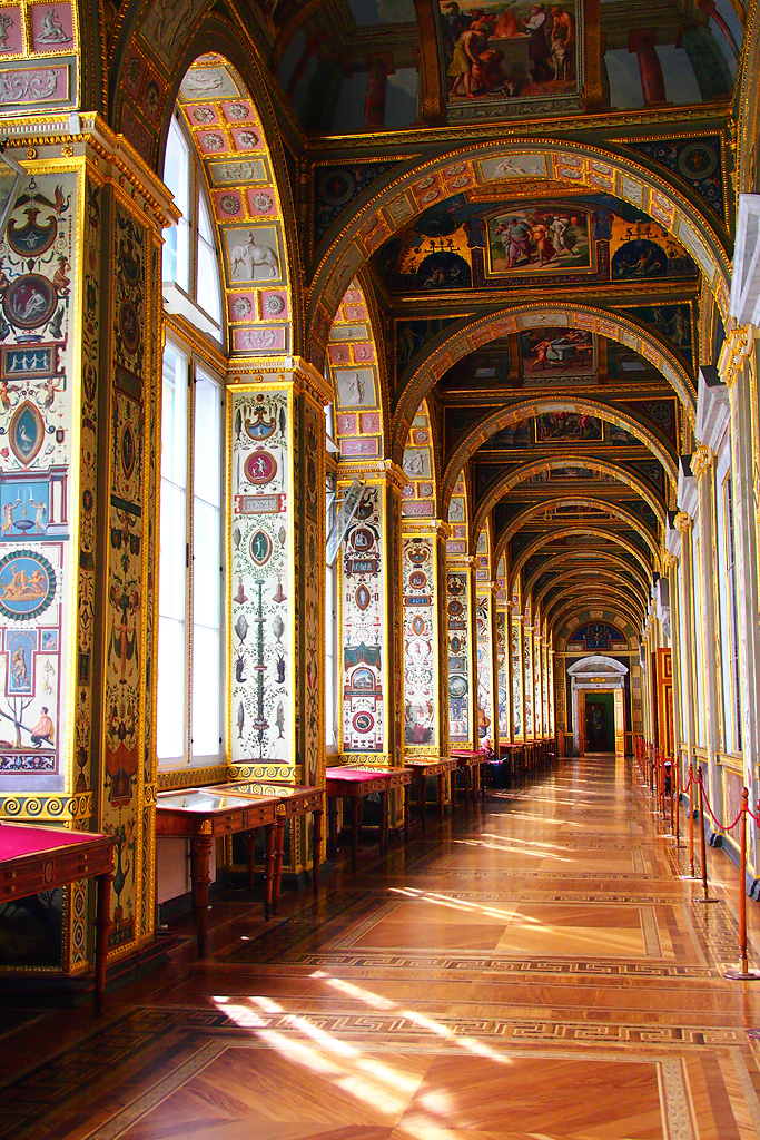 Hermitage museum st petersburg russia the raphael for Tour hermitage
