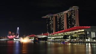 Marina Bay Sands,Art Museum and the Singapore Flyers | by photography60d
