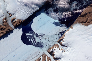Closeup of the Ice Island from Petermann Glacier | by NASA Goddard Photo and Video