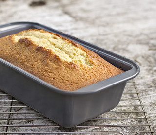 Condensed Milk Pound Cake - Loaf | by Elissa @ 17 and Baking