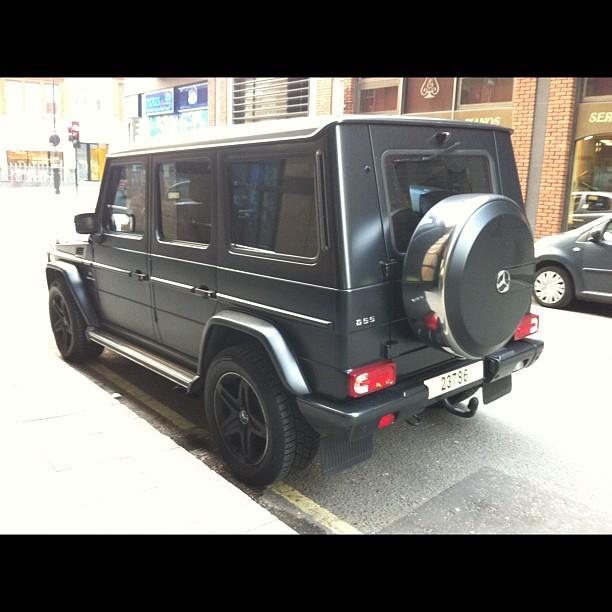 Mercedes Benz G55 Amg 4x4 Jeep Custom Matte Black Flickr