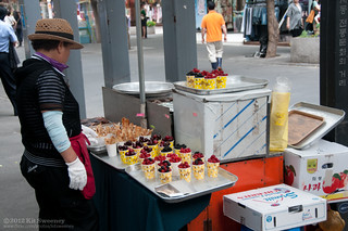 Fresh fruit and waffle chips | by kit