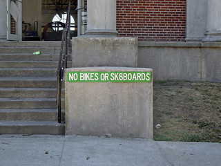 NO BIKES OR SK8BOARDS | by aar0on