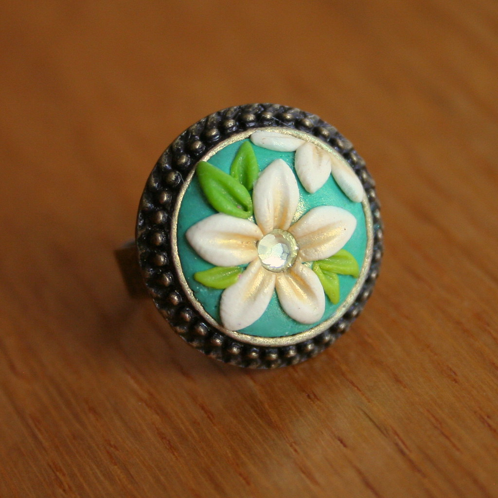 Adjustable Ring For Nail Art