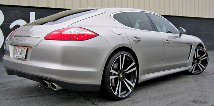 22 Inch Staggered Stuttgart Wheels On Porsche Panamera Whe