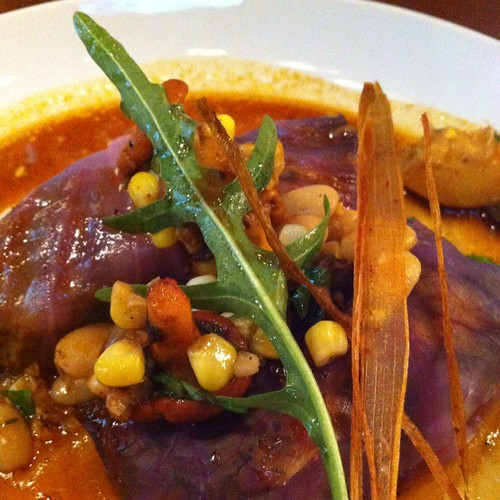 Braised Pork Cabbage Rolls @ Bittered Sling Bistro | by Mark & Andrea Busse