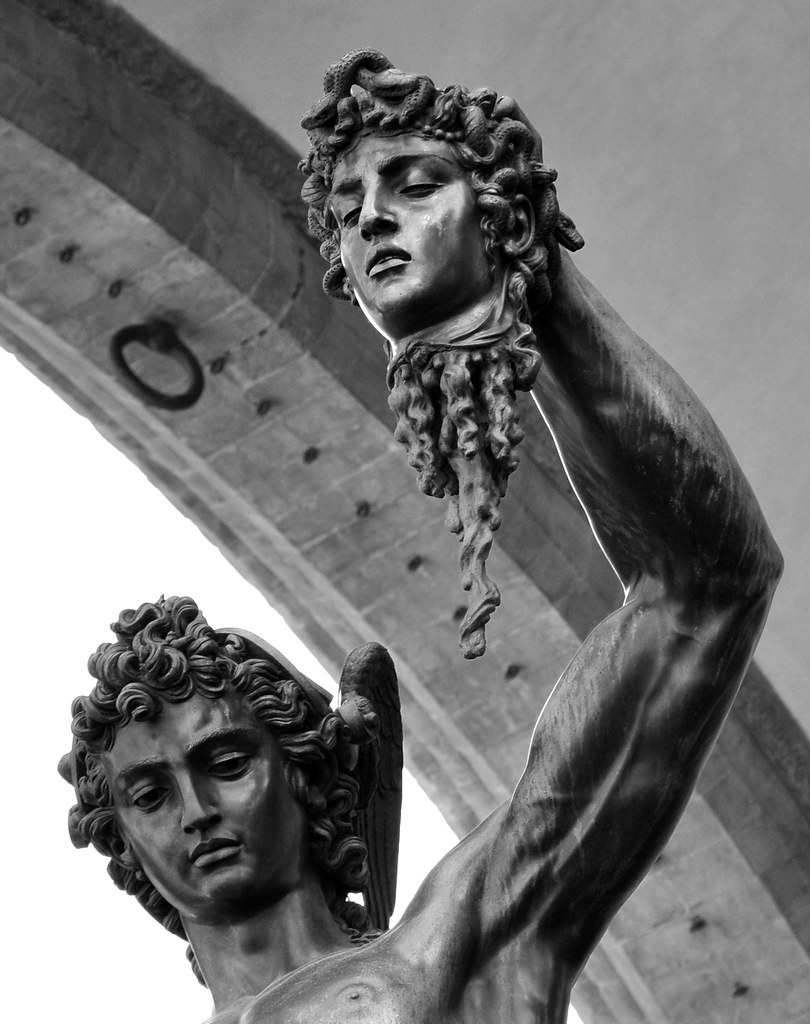 A history of the creation of perseus by benvenuto cellini