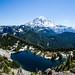 Mount Rainier from Tolmie Peak Lookout