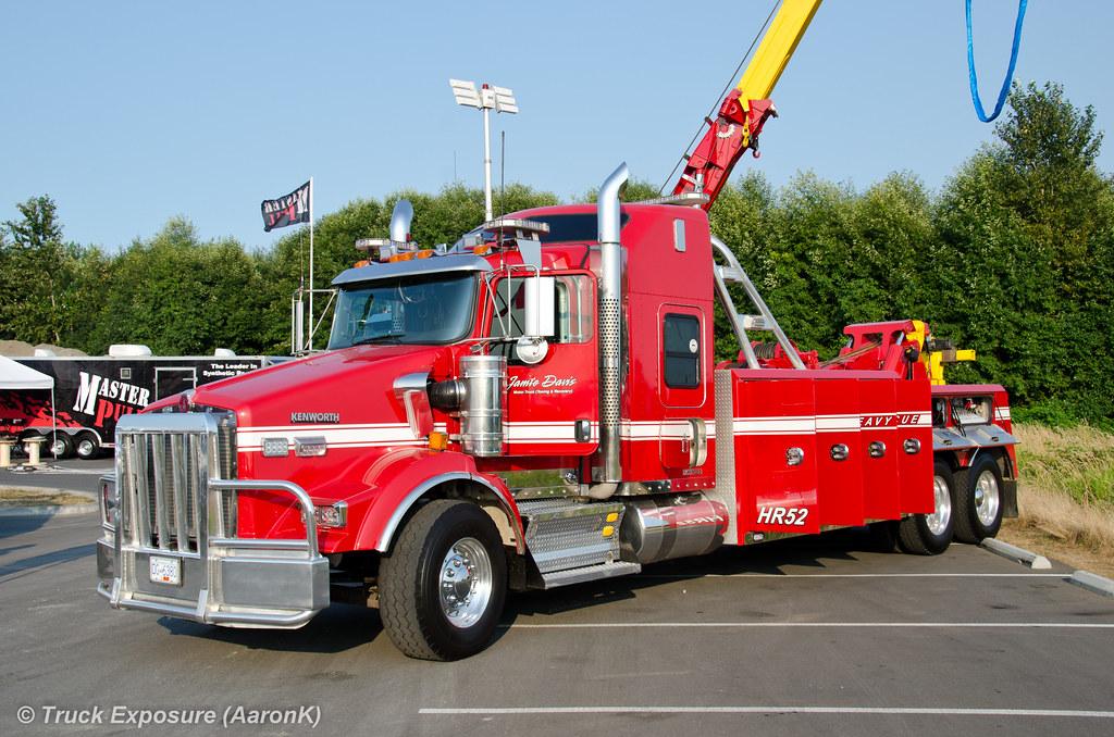jamie davis motor truck kenworth t800 2012 nw tow expo