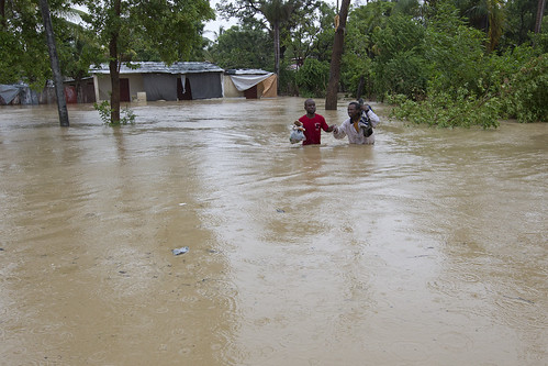 Tropical Storm Isaac | by United Nations Stabilization Mission In Haiti