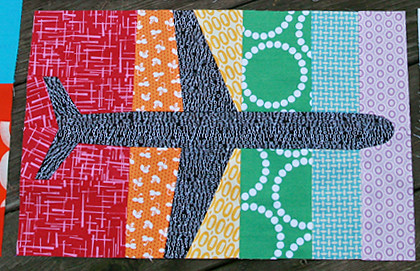 The Traveling Quilts for Monica - Fly with Me | by Fresh Lemons : Faith
