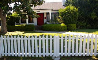 LA white picket fence | by Moby's Photos