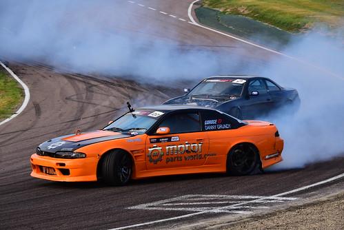Danny Grundy - Oliver Evans, British Drift Championship, Lydden Hill 2016