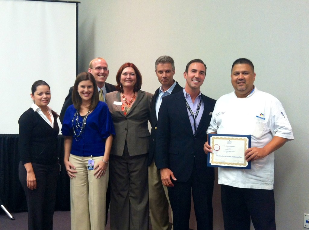 GRB Sales Team With Aramark Award Winners June 2012 Flickr