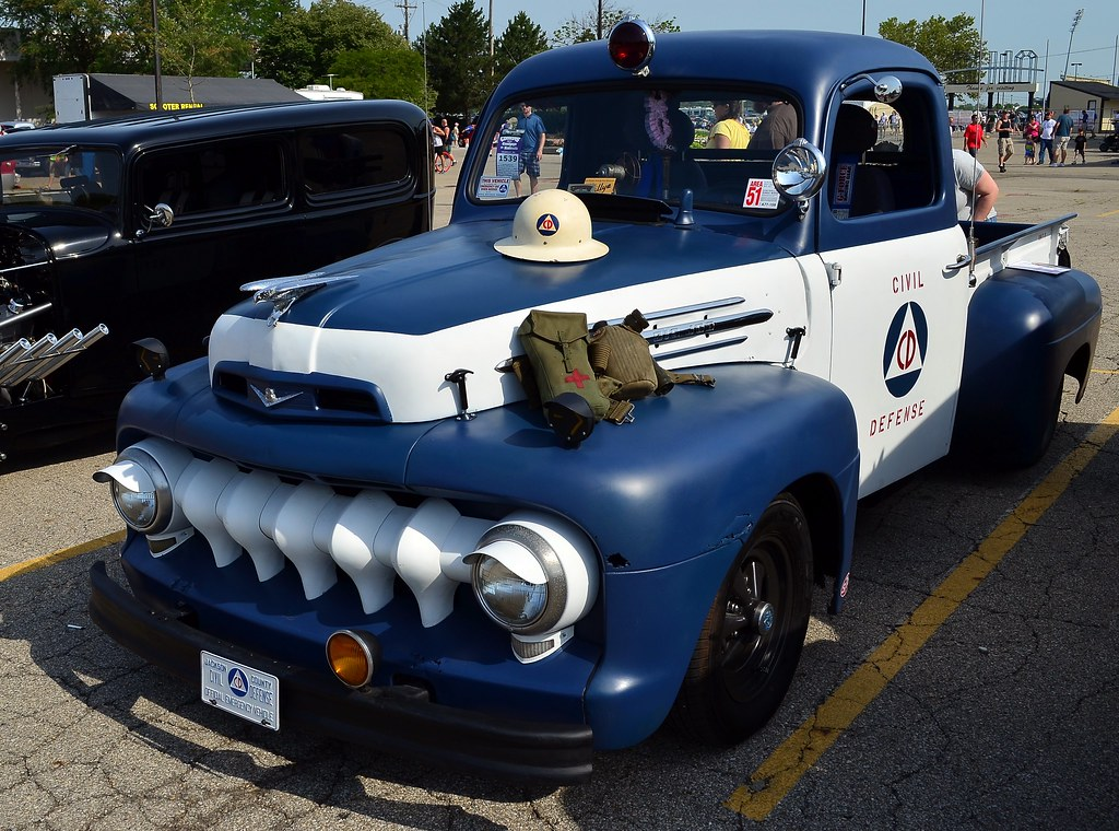 New Ford Trucks >> Civil Defense Ford F-7 pick up truck | scott597 | Flickr