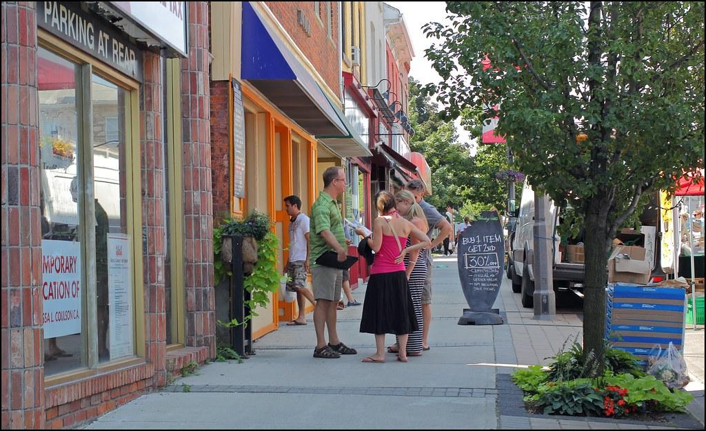 Milton Ontario Downtown Downtown Milton Ontario