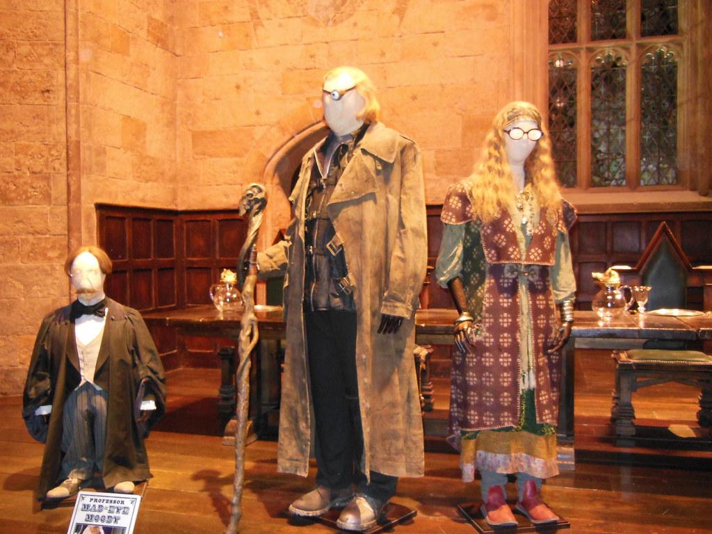 filius flitwick madeye moody sybill trelawney costumes flickr