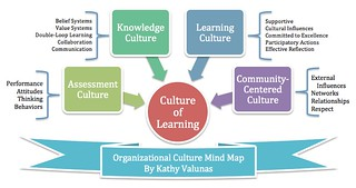 Organizational Learning Culture Mind Map | Learning ...
