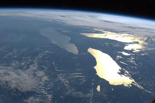 Great Lakes in Sunglint (NASA, International Space Station, 06/14/12) | by NASA's Marshall Space Flight Center