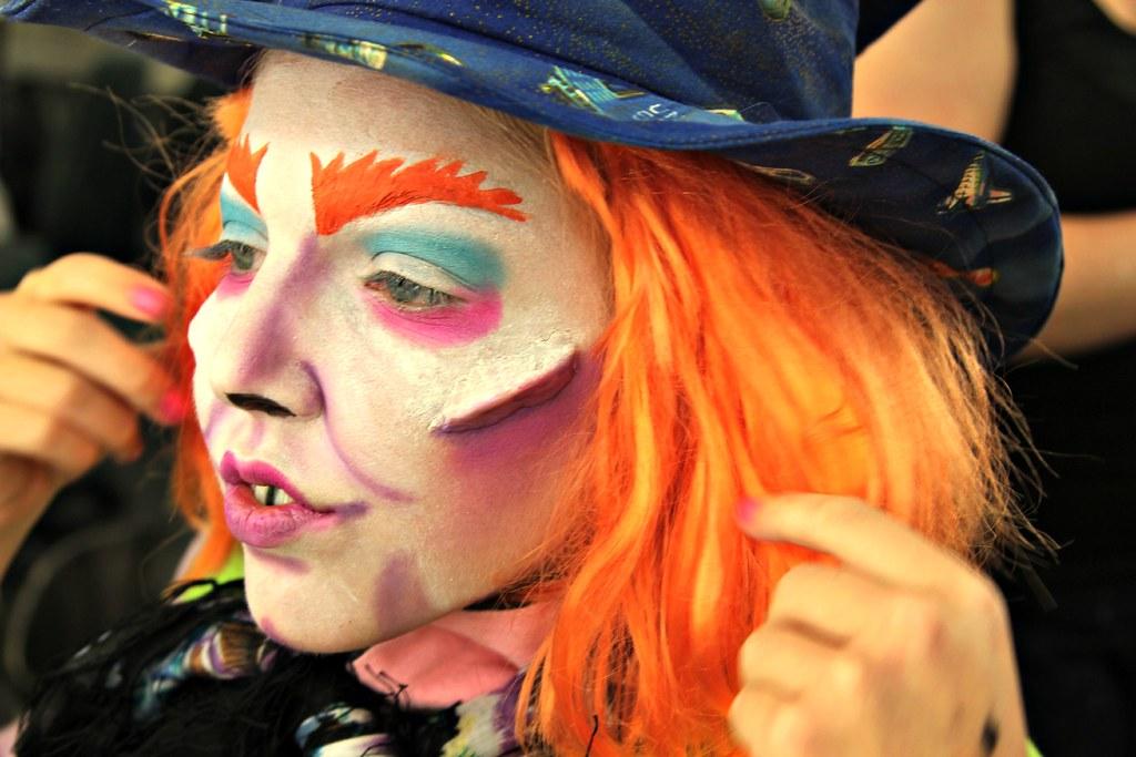 Stage Makeup: CARTA | Alice in Wonderland makeup: The Mad Ha ...