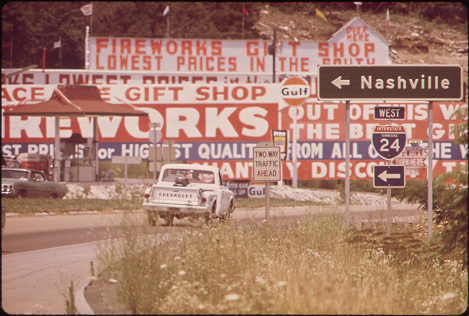 Visual Pollution Along Interstate 24, September 1972 | by The U.S. National Archives
