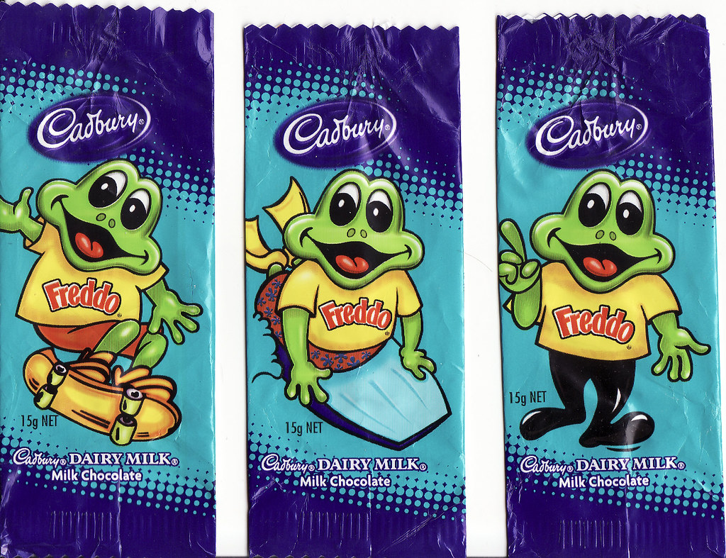 chocolate wrappers