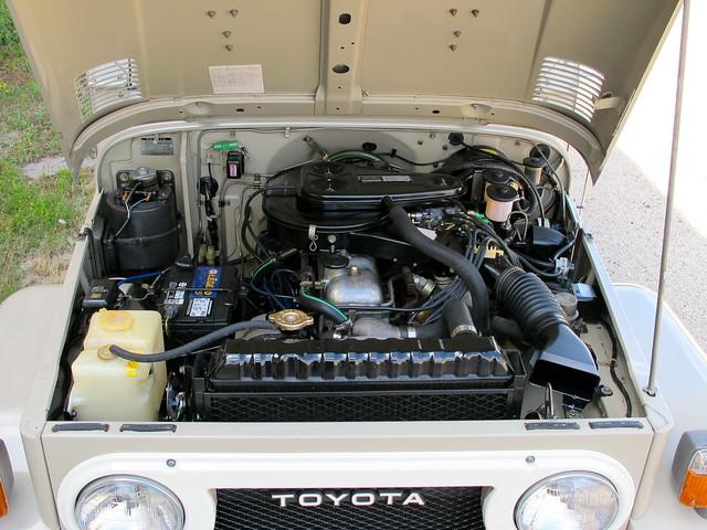 1978 Toyota Land Cruiser Fj40 Survivor For Sale Engine