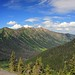 Panorama from Rock Pass Pacific Crest Trail, Pasayten Wilderness