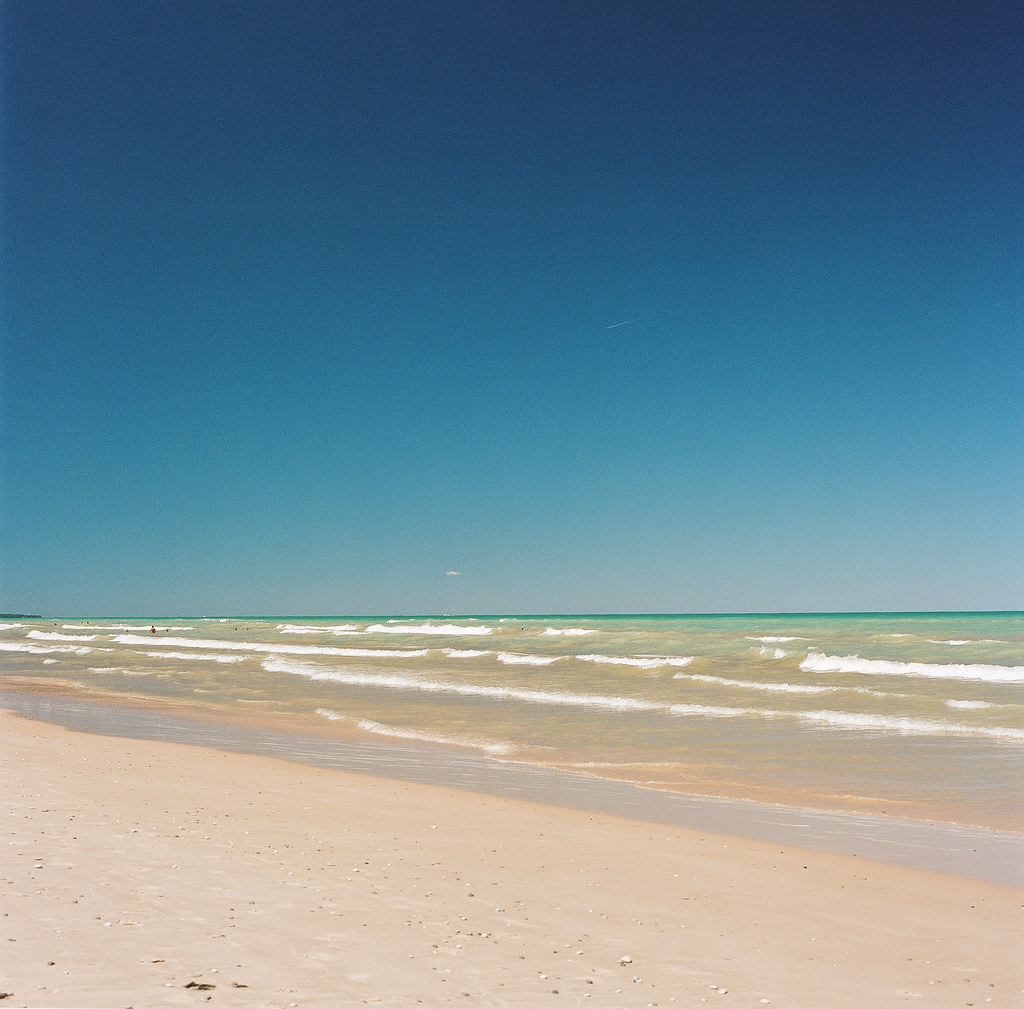 Beach At The Pinery Provincial Park And Campground Lake Huron By Grux