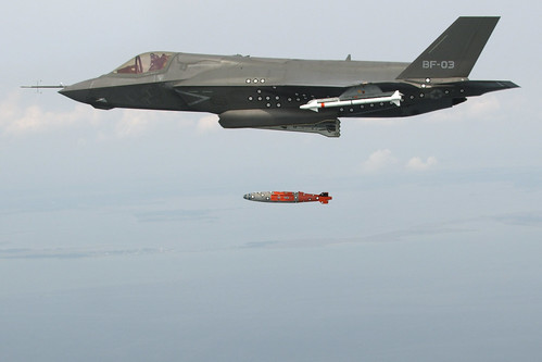 F-35 Completes First Airborne Weapons Separation | by Lockheed Martin