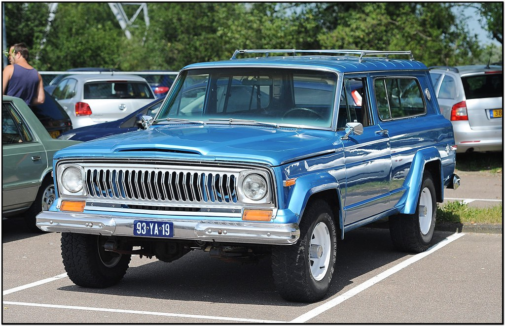 White Jeep Wagoneer >> Jeep Cherokee Chief / 1976 | Ruud Onos | Flickr