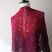 rayon boucle shawl