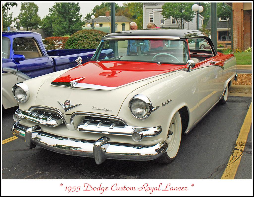 1955 dodge custom royal lancer 4 door sedan 15699 - 1955 Dodge Custom Royal Lancer The August 23 2012