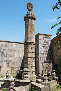 Pendulous column, Tatev Monastery | by Dr. Harout
